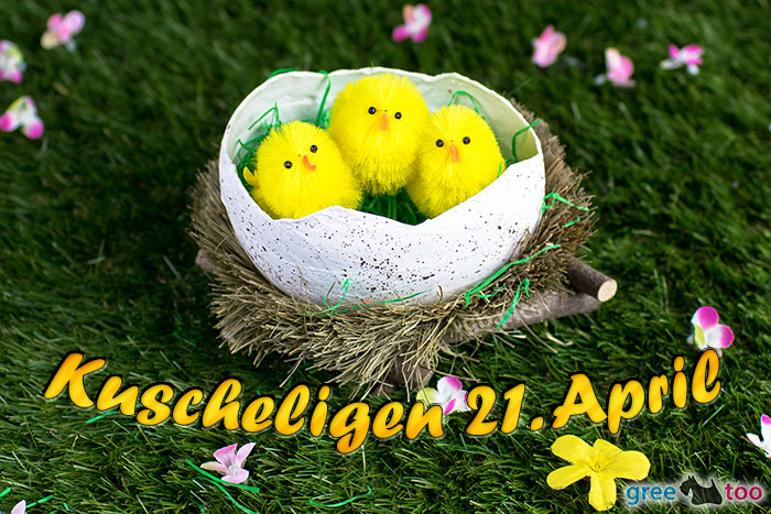 Kuscheligen 21 April Bild - 1gb.pics