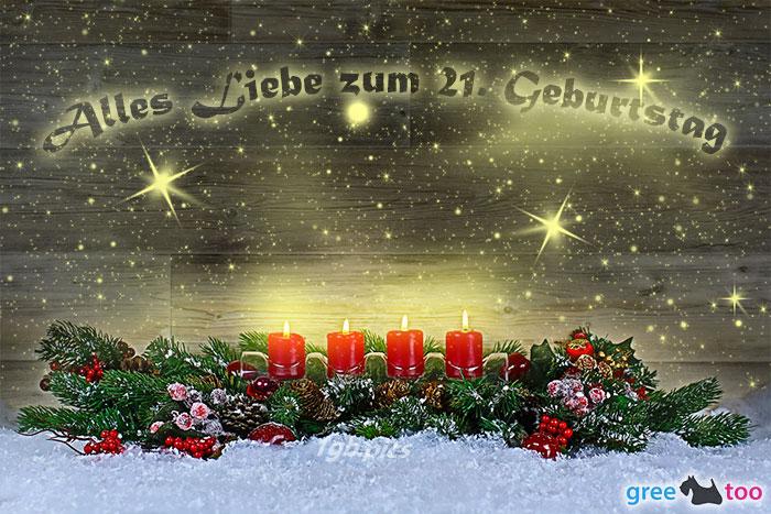 Alles Liebe Zum 21 Geburtstag Bild - 1gb.pics