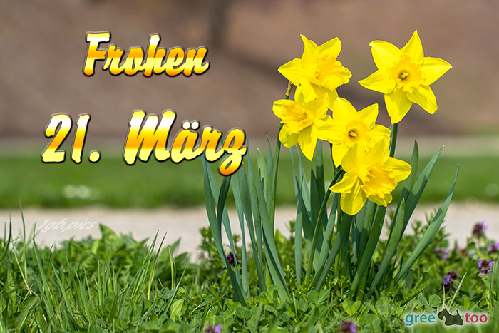 Frohen 21 Maerz Bild - 1gb.pics