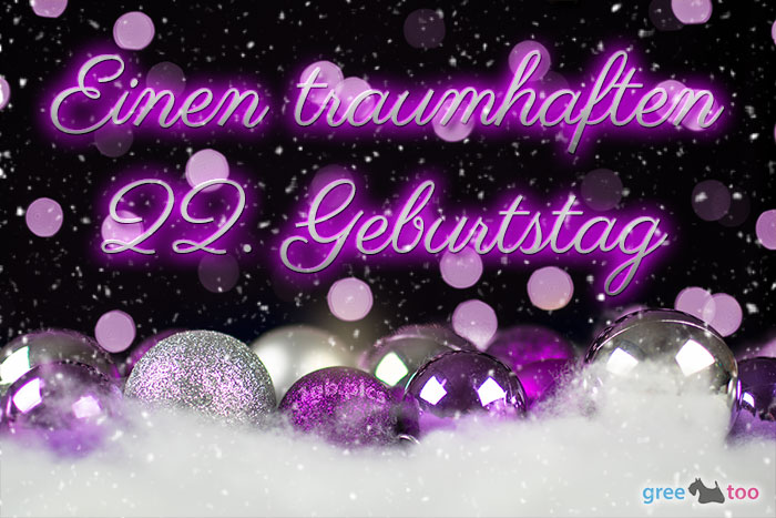 Traumhaften 22 Geburtstag Bild - 1gb.pics