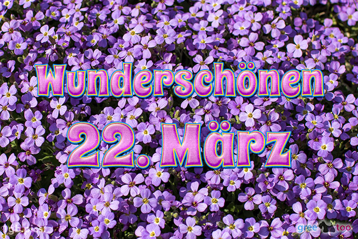 Wunderschoenen 22 Maerz Bild - 1gb.pics