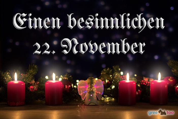 Besinnlichen 22 November Bild - 1gb.pics