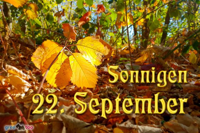Sonnigen 22 September Bild - 1gb.pics