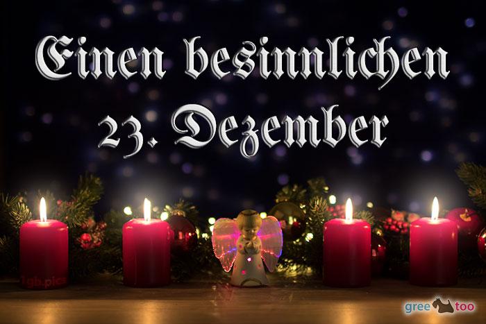 Besinnlichen 23 Dezember Bild - 1gb.pics