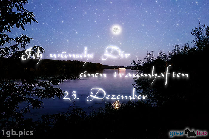 Mond Fluss Einen Traumhaften 23 Dezember Bild - 1gb.pics