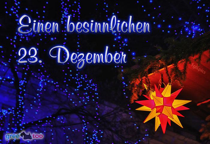 Stern Lichter Besinnlichen 23 Dezember Bild - 1gb.pics