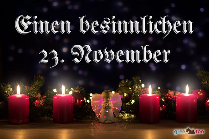 Besinnlichen 23 November Bild - 1gb.pics
