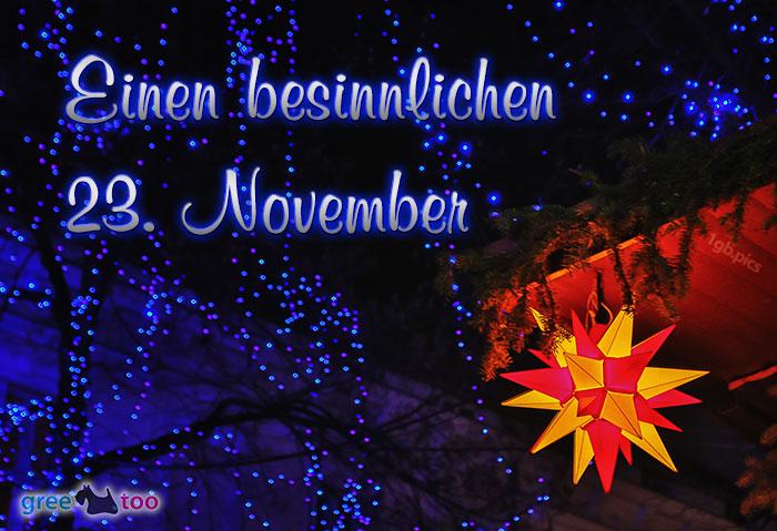 Stern Lichter Besinnlichen 23 November Bild - 1gb.pics