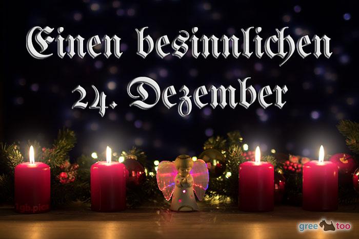 Besinnlichen 24 Dezember Bild - 1gb.pics