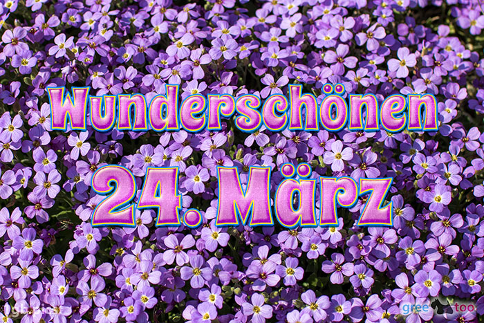 Wunderschoenen 24 Maerz Bild - 1gb.pics
