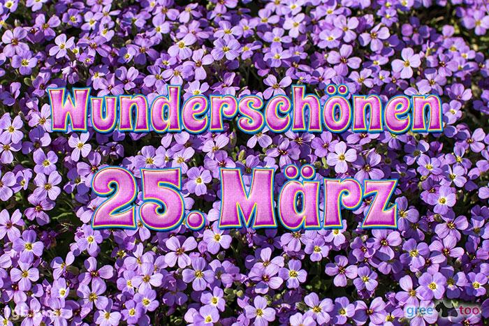 Wunderschoenen 25 Maerz Bild - 1gb.pics