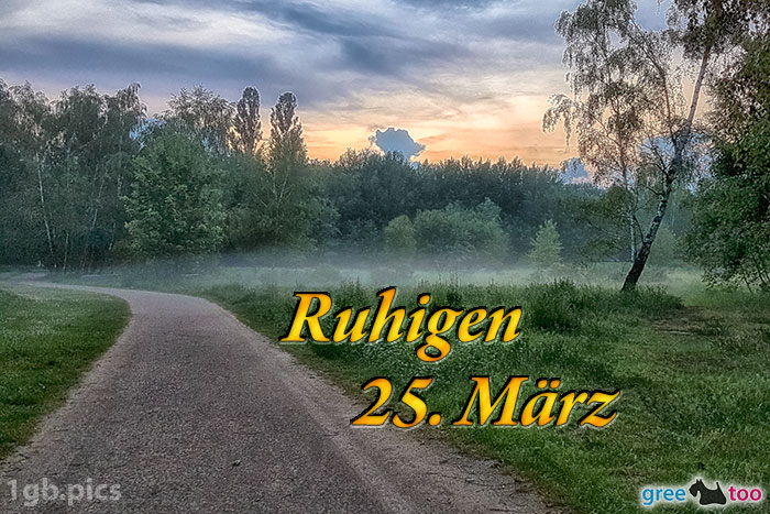 Nebel Ruhigen 25 Maerz Bild - 1gb.pics