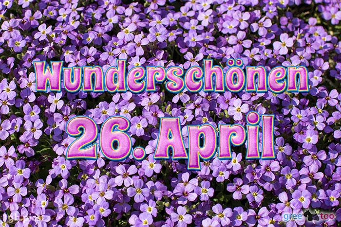Wunderschoenen 26 April Bild - 1gb.pics