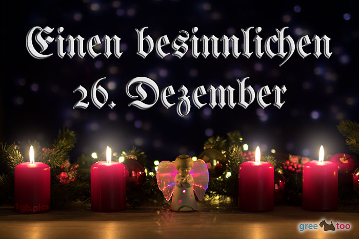 Besinnlichen 26 Dezember Bild - 1gb.pics