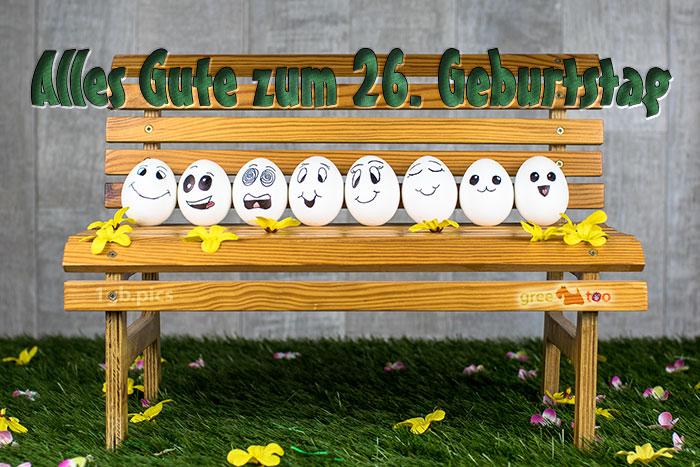 Alles Gute 26 Geburtstag Bild - 1gb.pics
