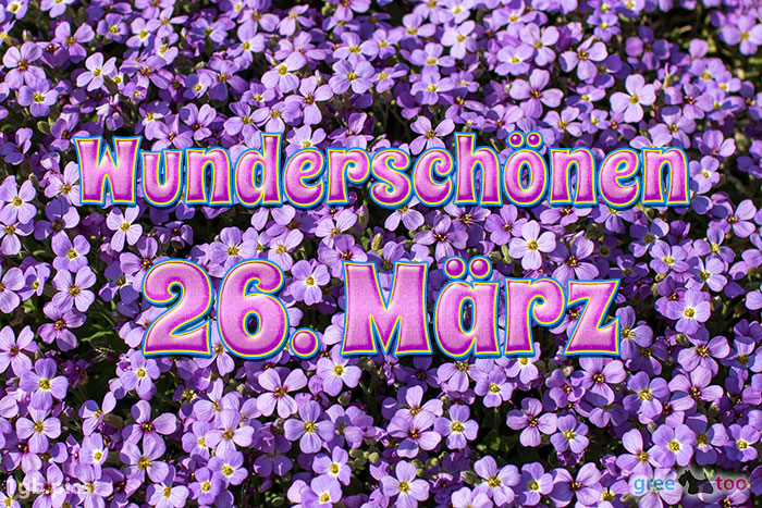 Wunderschoenen 26 Maerz Bild - 1gb.pics