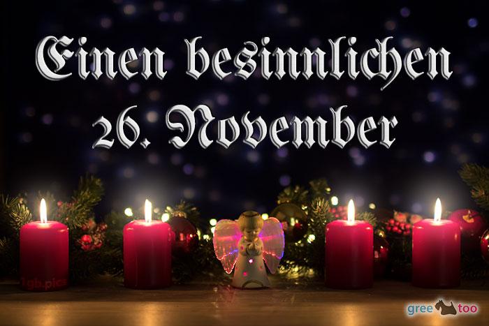 Besinnlichen 26 November Bild - 1gb.pics