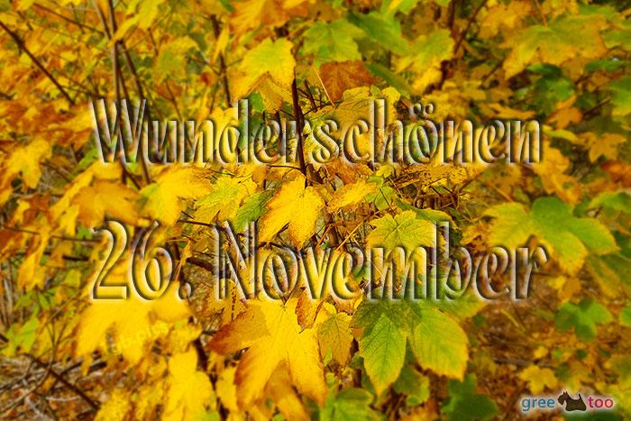 Wunderschoenen 26 November Bild - 1gb.pics