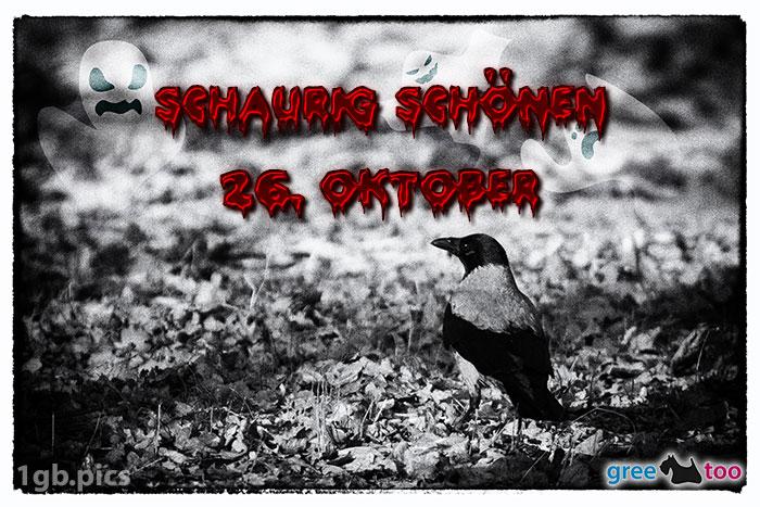 Kraehe Schaurig Schoenen 26 Oktober Bild - 1gb.pics