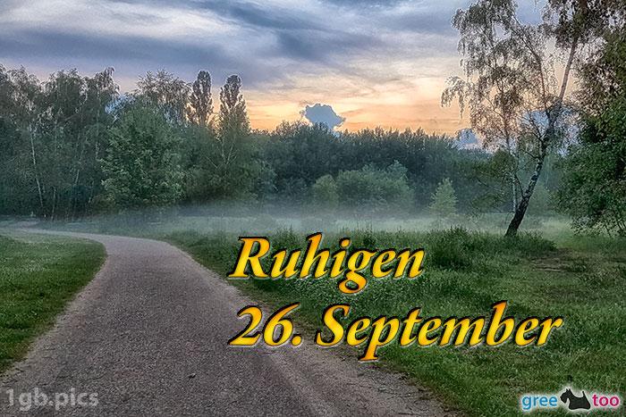 Nebel Ruhigen 26 September Bild - 1gb.pics