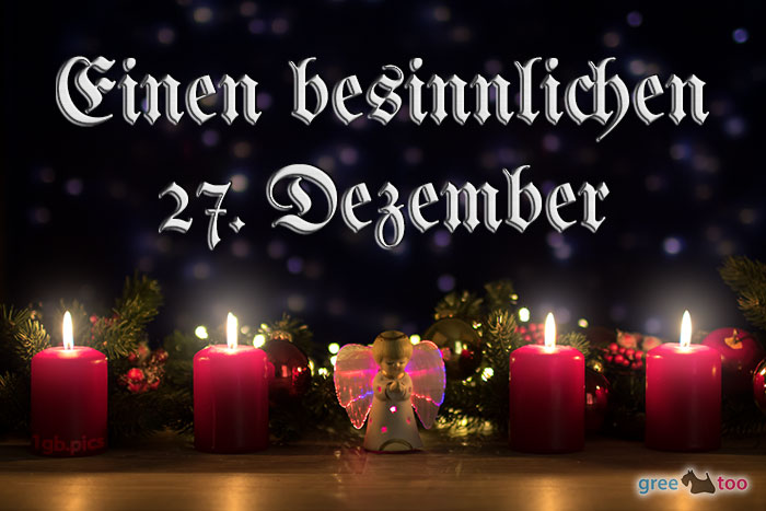 Besinnlichen 27 Dezember Bild - 1gb.pics