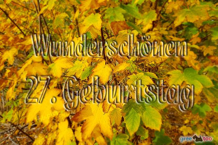 Wunderschoenen 27 Geburtstag Bild - 1gb.pics