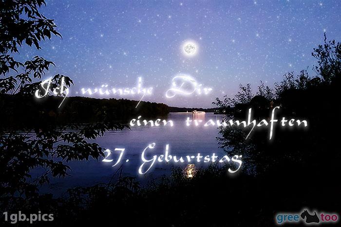 Mond Fluss Einen Traumhaften 27 Geburtstag Bild - 1gb.pics