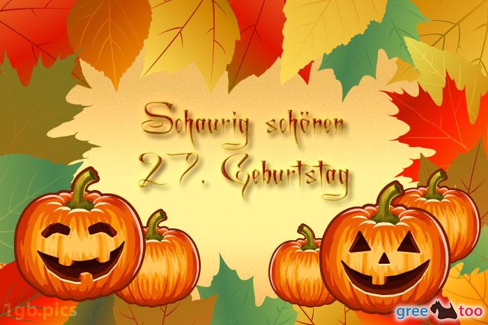 Herbstblaetter Kuerbis Schaurig Schoenen 27 Geburtstag Bild - 1gb.pics