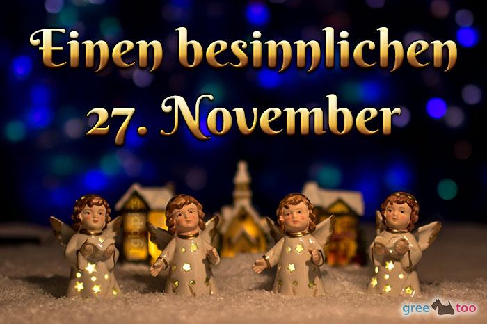 Besinnlichen 27 November Bild - 1gb.pics
