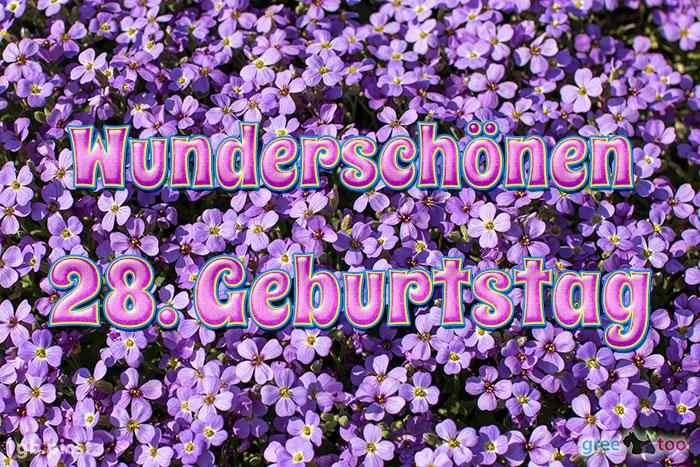 Wunderschoenen 28 Geburtstag Bild - 1gb.pics