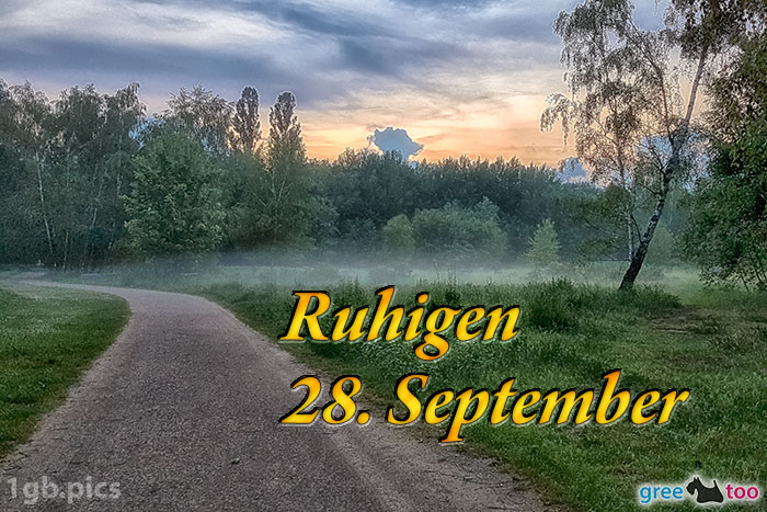 Nebel Ruhigen 28 September Bild - 1gb.pics