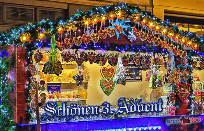 Weihnachtsmarktbude Schoenen 3 Advent Bild - 1gb.pics