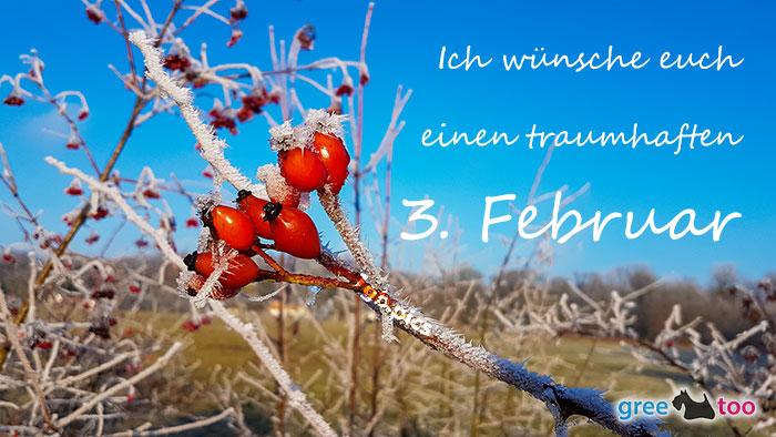Einen Traumhaften 3 Februar Bild - 1gb.pics