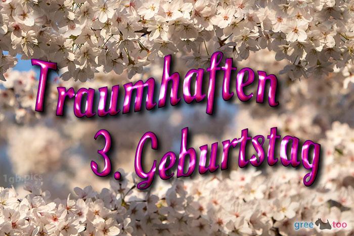 Traumhaften 3 Geburtstag Bild - 1gb.pics
