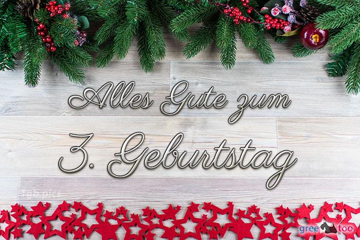 Alles Gute Zum 3 Geburtstag Bild - 1gb.pics