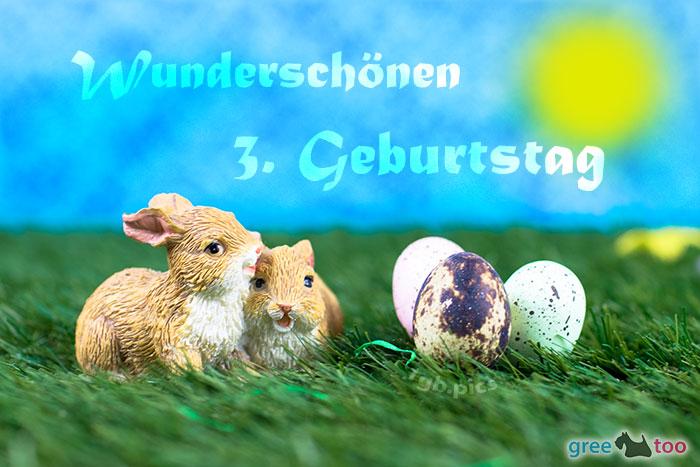 Wunderschoenen 3 Geburtstag Bild - 1gb.pics