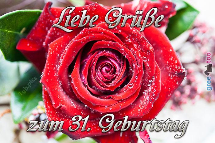 Zum 31 Geburtstag Bild - 1gb.pics