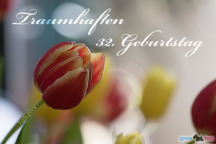 Traumhaften 32 Geburtstag Bild - 1gb.pics