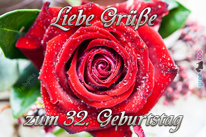 Zum 32 Geburtstag Bild - 1gb.pics