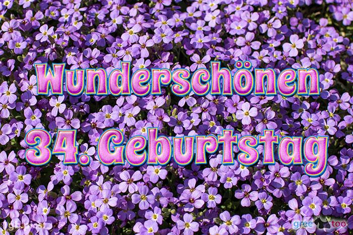 Wunderschoenen 34 Geburtstag Bild - 1gb.pics