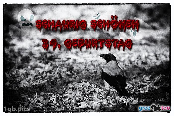 Kraehe Schaurig Schoenen 34 Geburtstag Bild - 1gb.pics