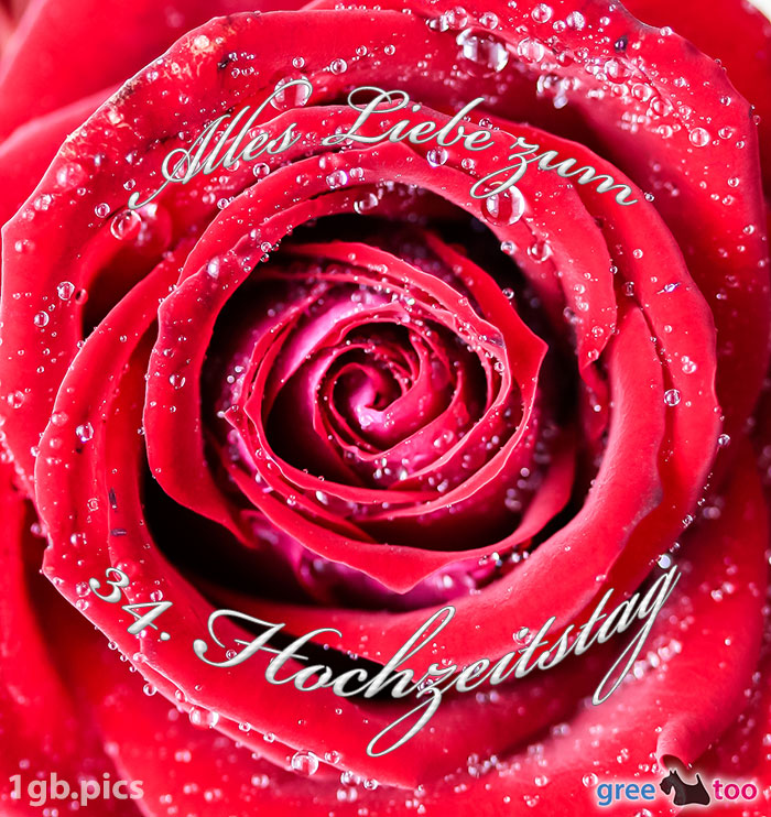 Hochzeitstag 47 Blumenstrauß zum