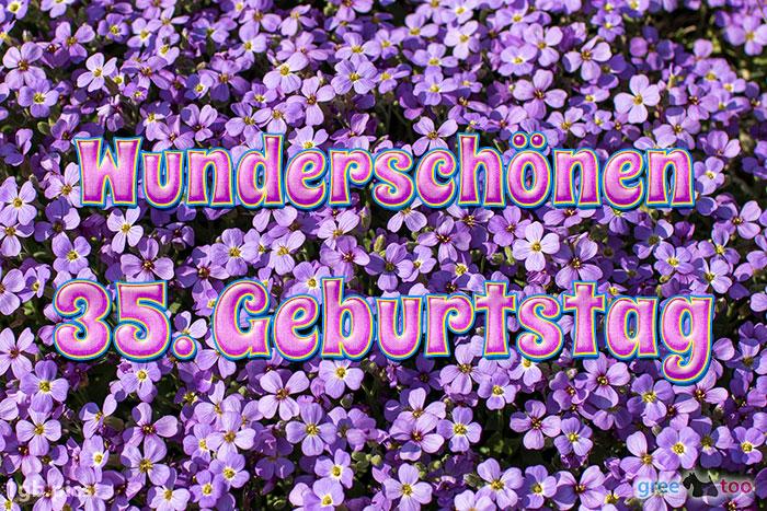 Wunderschoenen 35 Geburtstag Bild - 1gb.pics