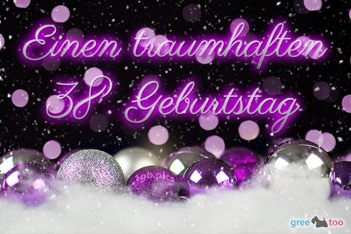 Traumhaften 38 Geburtstag Bild - 1gb.pics