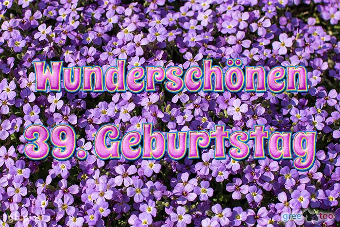 Wunderschoenen 39 Geburtstag Bild - 1gb.pics