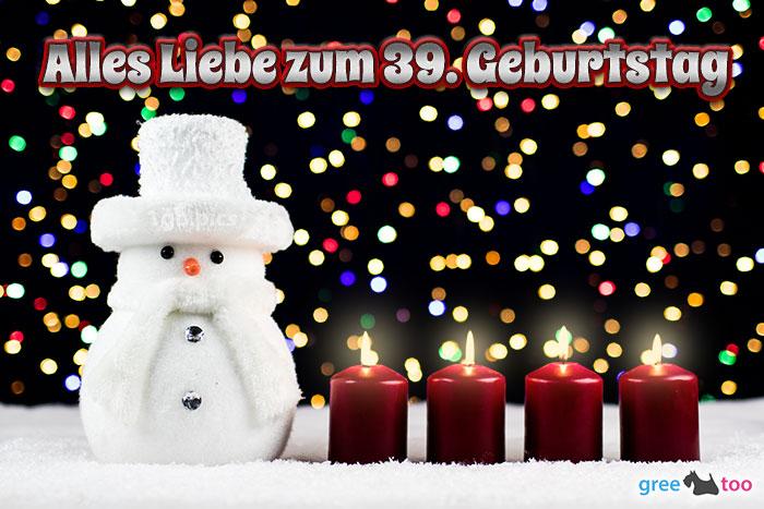Alles Liebe Zum 39 Geburtstag Bild - 1gb.pics