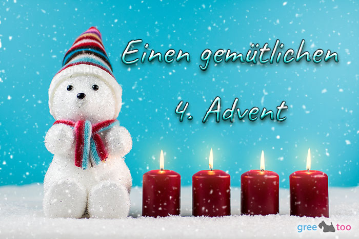 Gemuetlichen 4 Advent Bild - 1gb.pics