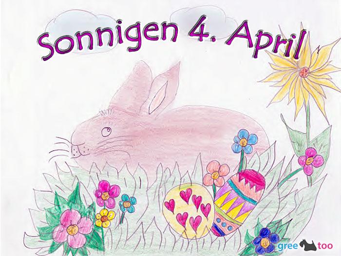 Sonnigen 4 April Bild - 1gb.pics