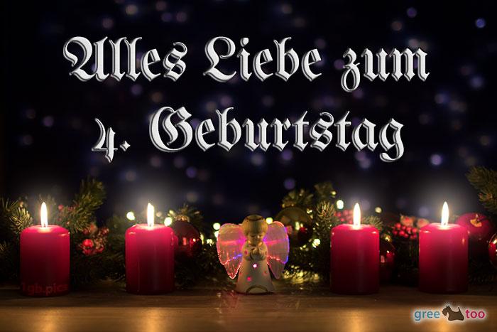 Alles Liebe 4 Geburtstag Bild - 1gb.pics