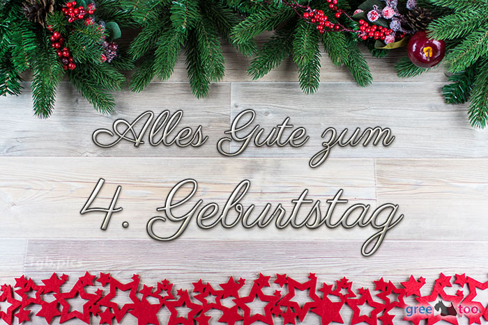 Alles Gute Zum 4 Geburtstag Bild - 1gb.pics